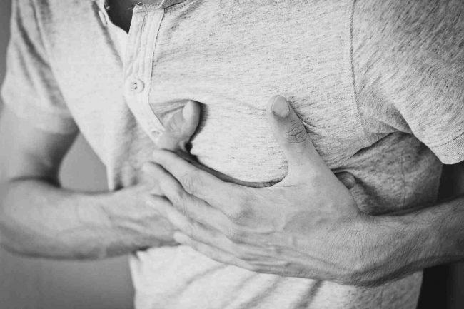 bolesť srdca