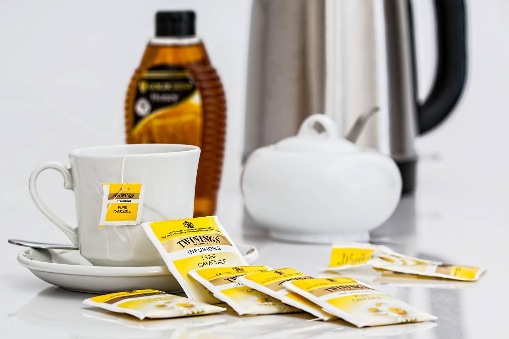 rumanček čaj