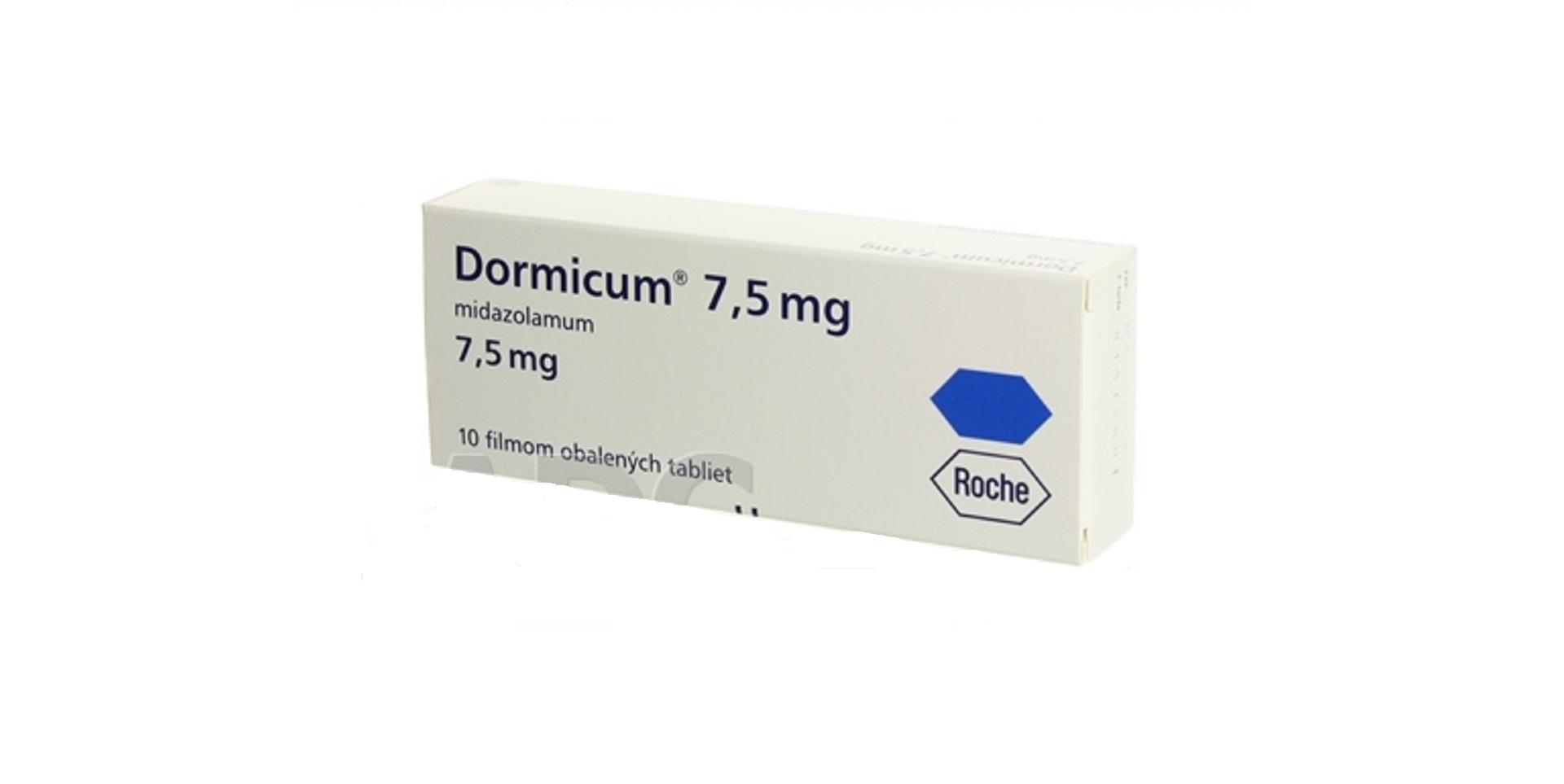 dormicum 5mg a 7,5 mg