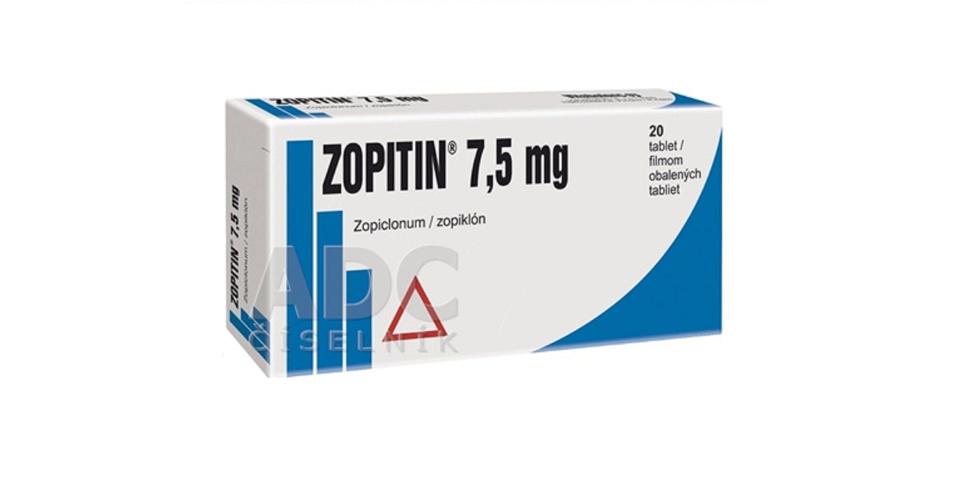 zopitin 7,5mg